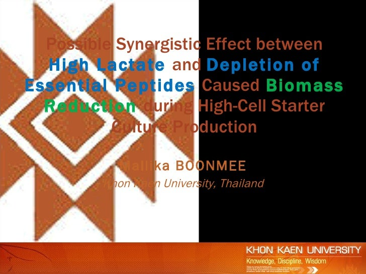 Possible Synergistic Effect between   High Lactate and Depletion of Essential Peptides Caused Biomass   Reduction during H...