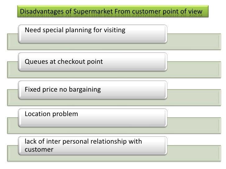 importance of super market