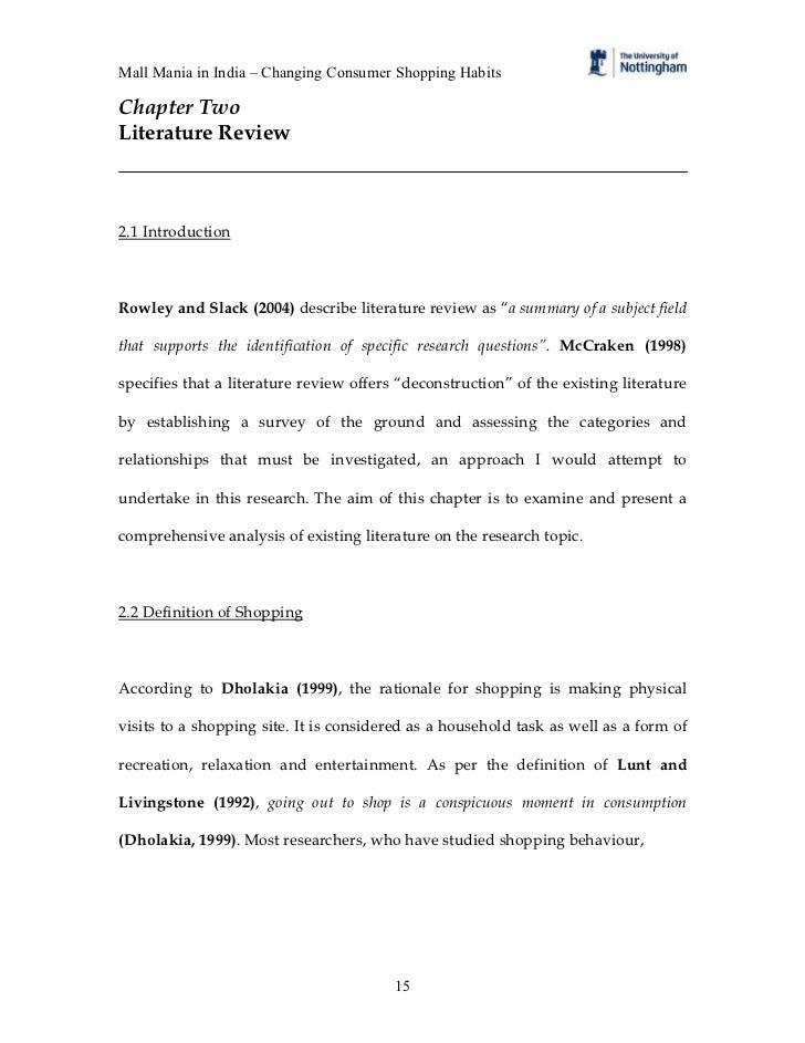 descriptive essay shopping