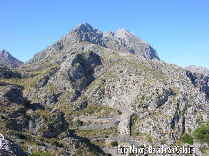 Puig Major - Bajada Sa Calobra