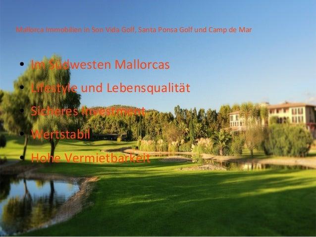 Mallorca Golf Immobilien Finanzieren Slide 3