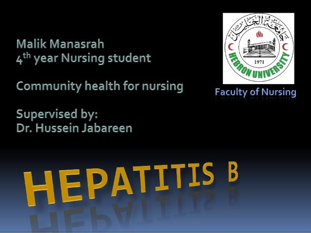 Overview Discussion Hepatitis B     Definition     Epidemiology     Clinical course and symptoms     Prevention     ...