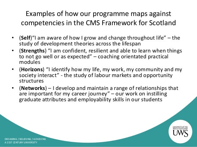 Cms the blueprint framework for career learning in scotland career changers 22 malvernweather Image collections