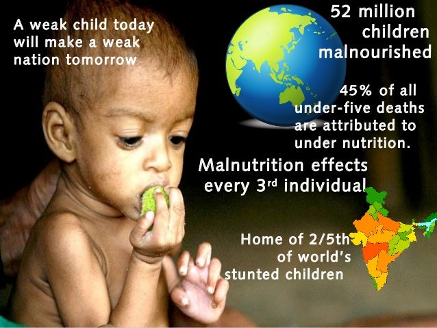 epidemiology of childhood malnutrition in india and strategies of co