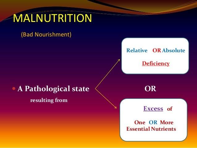 Malnutrition by dr najeeb
