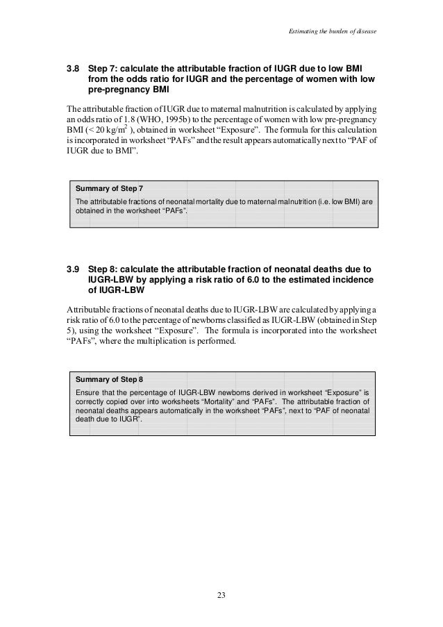 Malnutrition ebd12 – Step 8 Worksheet