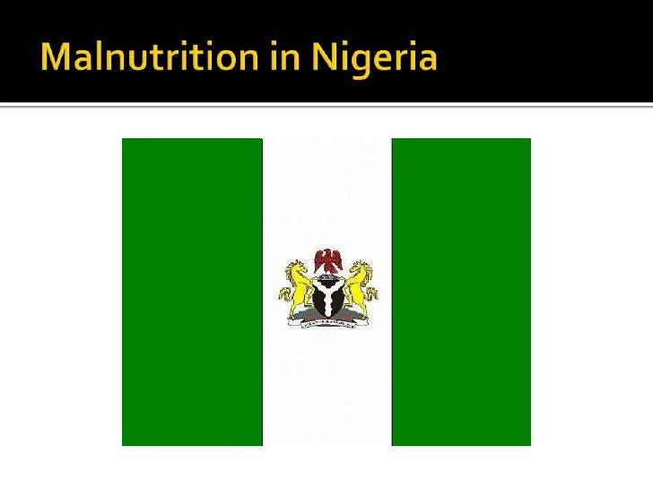 Malnutrition in Nigeria<br />