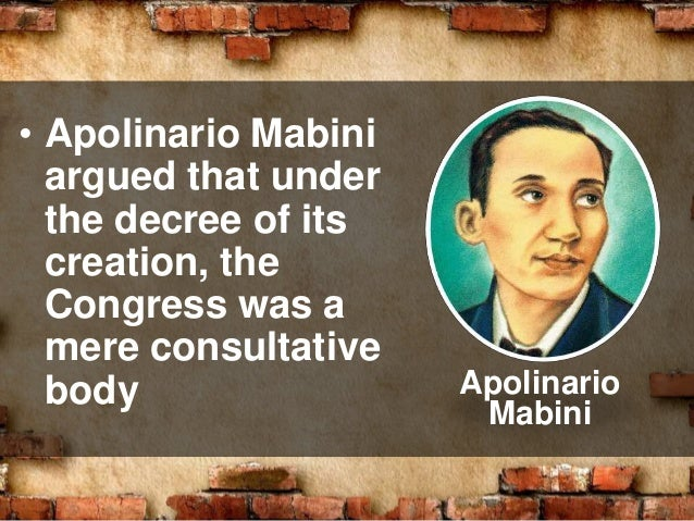 malolos republic The present constitution of the philippines:  the 1899 malolos constitution:  approved by the malolos congress on november 29, 1898, draft returned by.