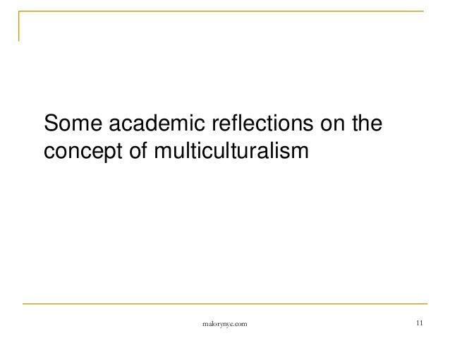 An introduction to the definition of multiculturalism