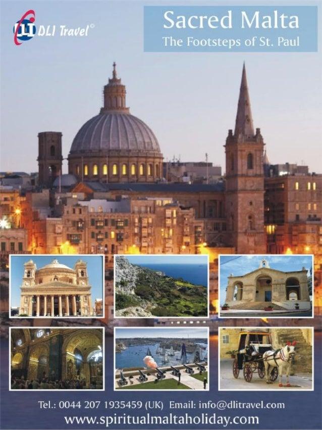 6 Days Spiritual Malta Holiday