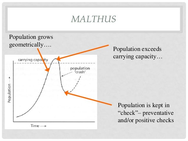 a critical analysis of the malthusian