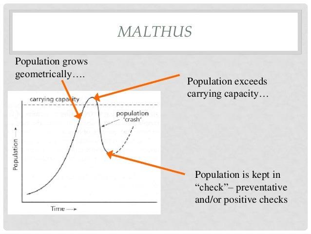 Malthus' Theory of Population Essay