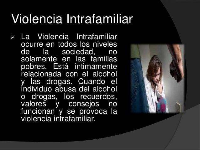 Maltrato intrafamiliar Slide 3