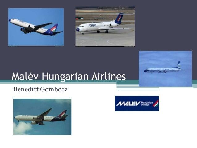 Malév Hungarian Airlines Benedict Gombocz