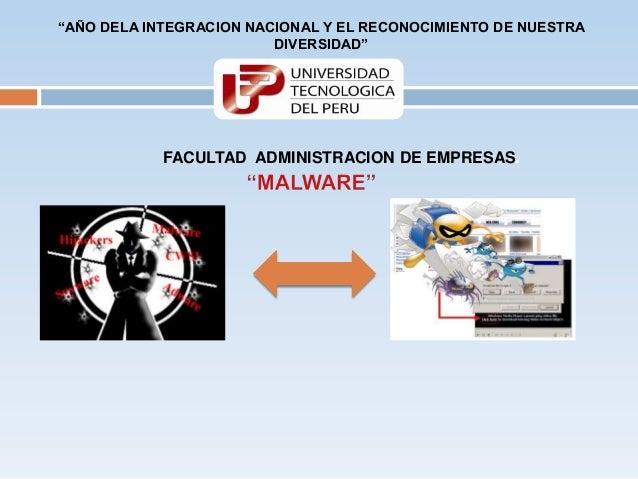 """""""AÑO DELA INTEGRACION NACIONAL Y EL RECONOCIMIENTO DE NUESTRA                         DIVERSIDAD""""            FACULTAD ADMI..."""