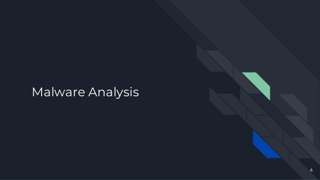 Malware Analysis 6