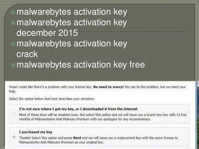 malwarebytes license key free
