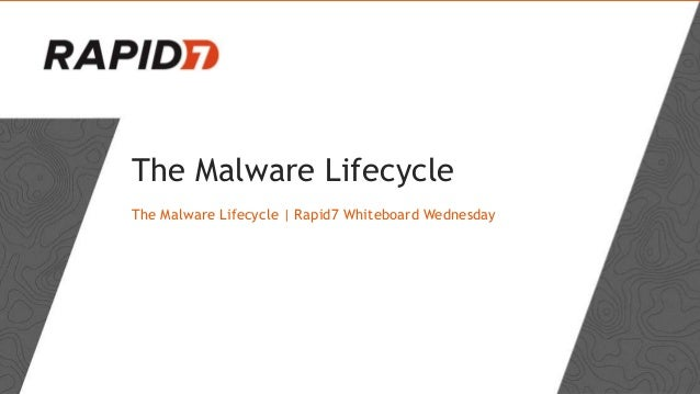 The Malware Lifecycle The Malware Lifecycle | Rapid7 Whiteboard Wednesday
