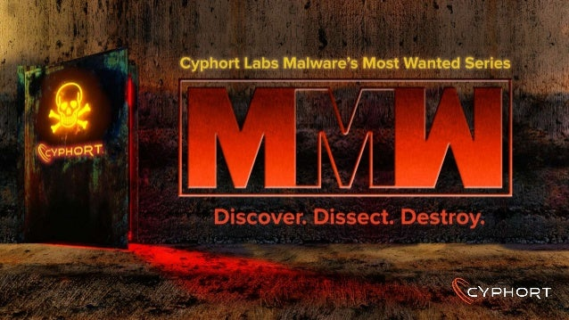 The Malware Self-Protection Matrix Marion Marschalek Senior Malware Researcher at Cyphort Labs