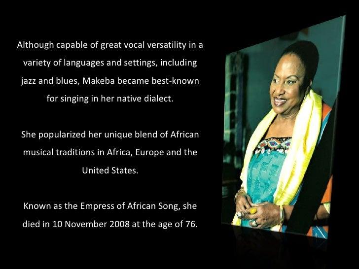 Mama Africa (AFRICA HD YOUTUBE VIDEO) Slide 3