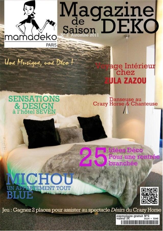 Mama deko magazine numero 2 for Deko magazin
