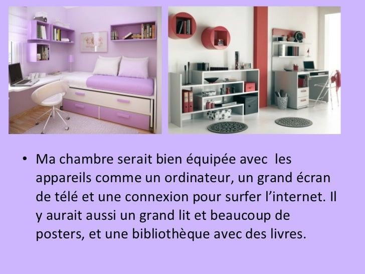 Ma maison ideale shaleila for Schedule j bedroom description