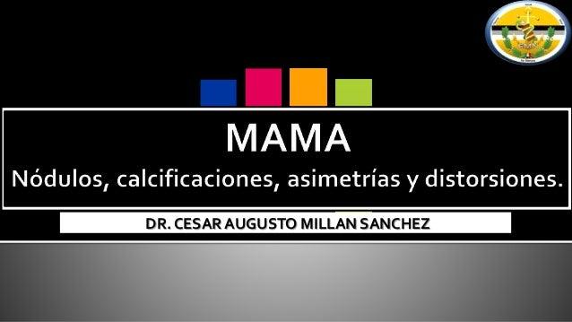 DR. CESAR AUGUSTO MILLAN SANCHEZ