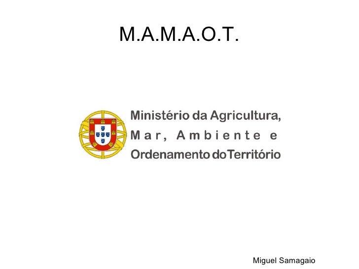 M.A.M.A.O.T.               Miguel Samagaio