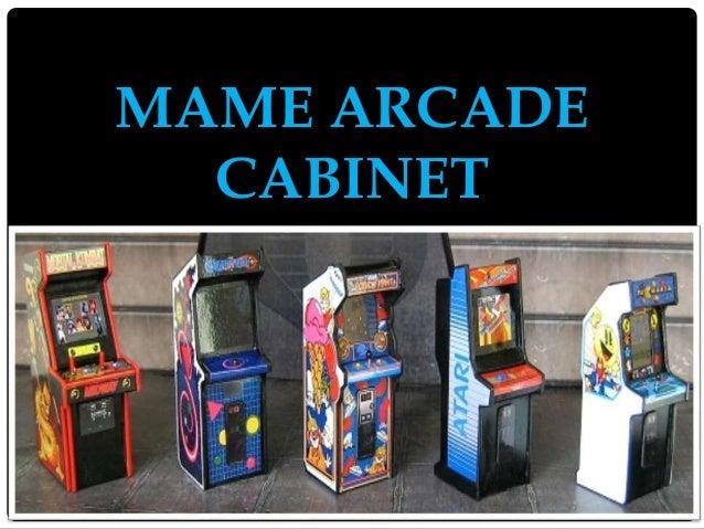 Elegant Mame Arcade Cabinet