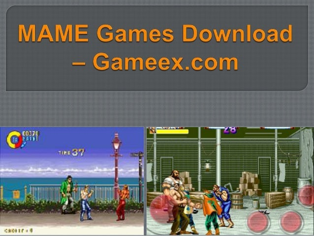 Mame games download – gameex com