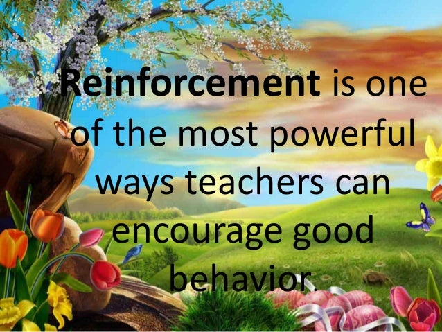 How To Use Positive Reinforcement Slide 2