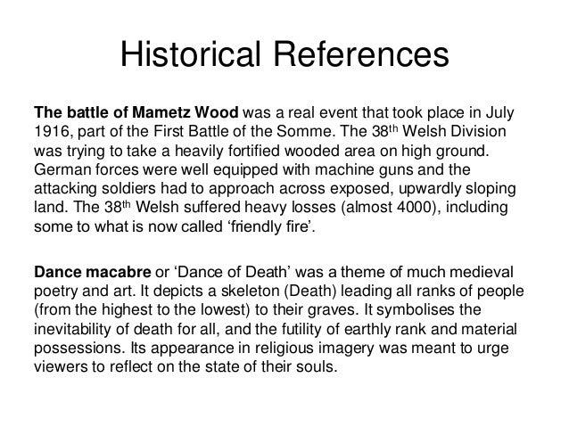 Mametz Wood by Owen Sheers