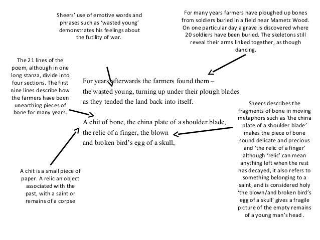 mametz wood poem analysis essay