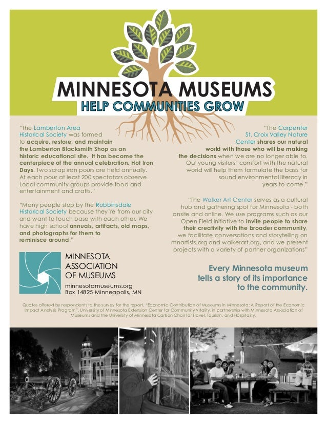 """MINNESOTA MUSEUMS """"Many people stop by the Robbinsdale Historical Society because they're from our city and want to touch ..."""