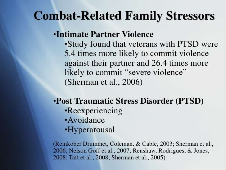 a study on the post traumatic stress disorder in regards to intimate partner violence Overview trauma and violence are  the cost of intimate partner violence,  veterans reported symptoms consistent with post-traumatic stress disorder.