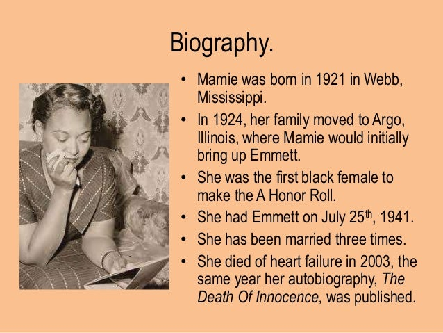 who was mamie till 7 quotes from mamie till-mobley: 'with each day, i give thanks for the blessings of life—the blessings of another day and the chance to do something with it.