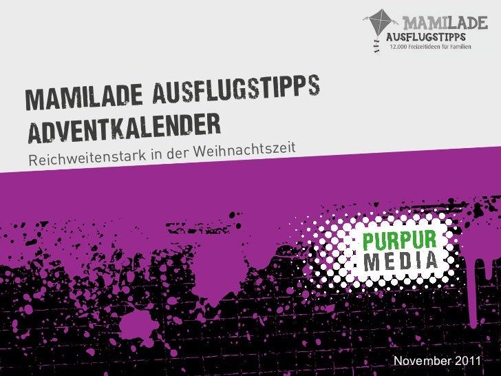 Mamila de AusflugstippsAdventkalender     zeit       ihnachts                      er WeReichweitenstark in d             ...