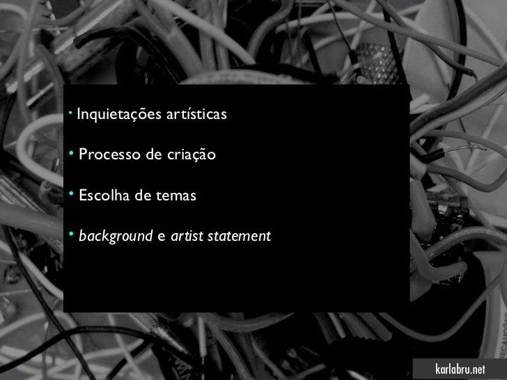 A imagem nas poéticas digitais - MAM Salvador Slide 3