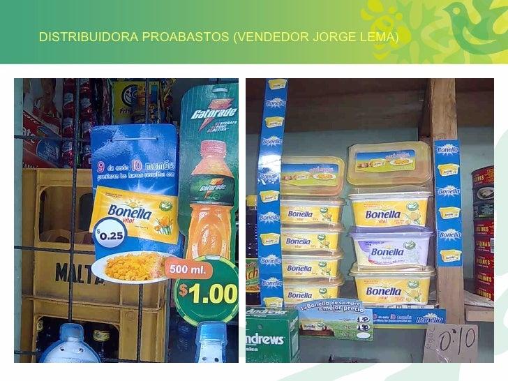 DISTRIBUIDORA PROABASTOS (VENDEDOR JORGE LEMA)
