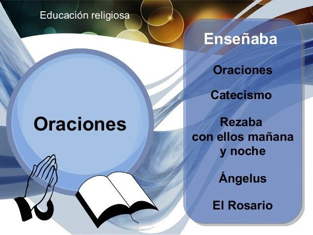 Educación religiosa                       Iglesia de S. Pedro                          Predicación                        ...