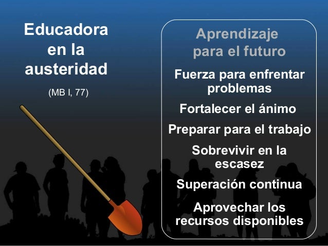 Austeridad con proyección de futuro  Don Bosco                            La austeridad personal                          ...