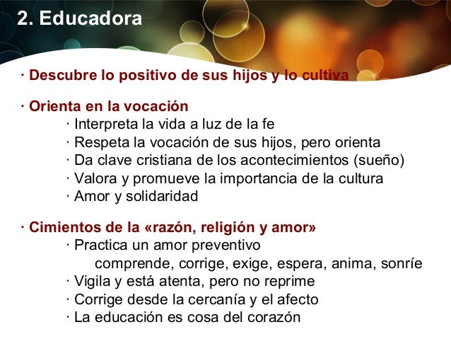 3. Catequista Catequista de la vida diaria      · Se siente responsable de la fe de sus hijos      · Propone valores senci...