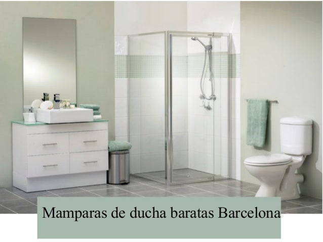 mamparas de ducha baratas barcelona