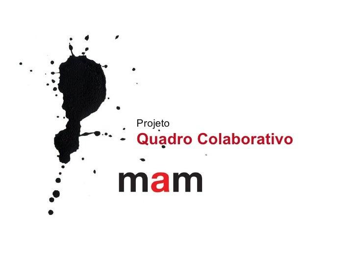 Projeto   Quadro Colaborativo