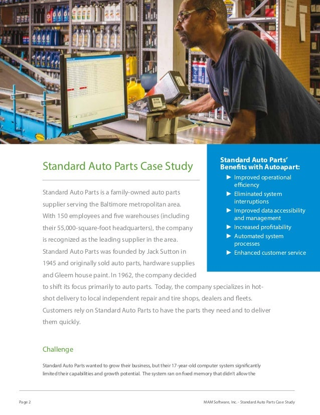 case study of domestic auto parts Domestic sales exports and imports (192-2004) in thousands of units  total  revenue of brazilian automotive and auto parts industry:  utilises case study  evidence, including a study of the automobile sector in brazil.