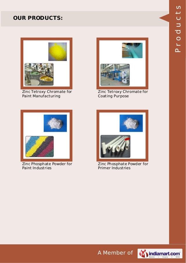 Zinc Phosphate Powder by Mamta industries