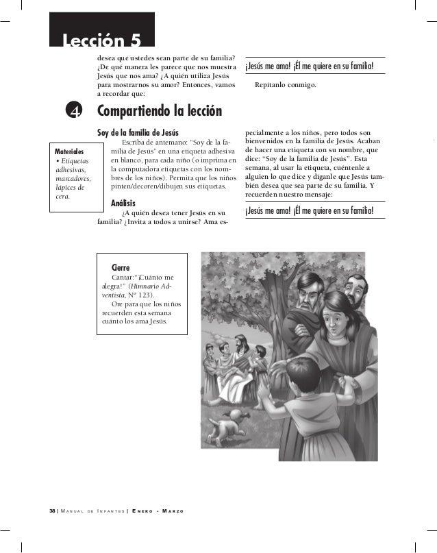Manual Infantes   Escuela Sabática 2015   Primer trimestre 2015   Man…