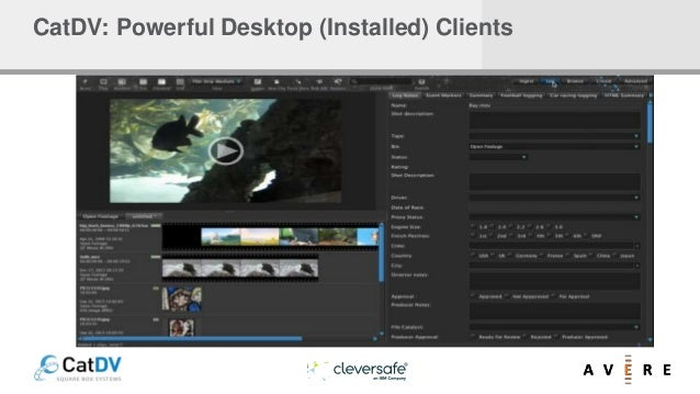 CatDV: Powerful Desktop (Installed) Clients