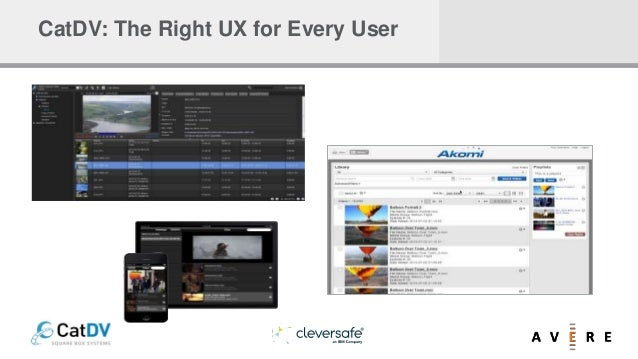 CatDV: The Right UX for Every User