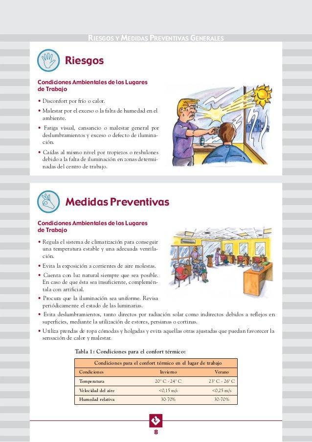 Manual de seguridad y salud en peluquerias for Iluminacion para peluquerias